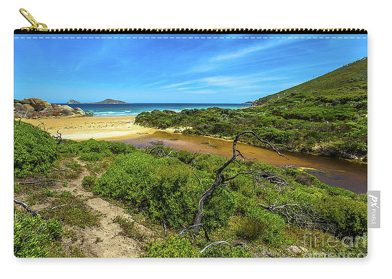 Australia Carry-all Pouch featuring the photograph Wilsons Promontory National Park by Benny Marty