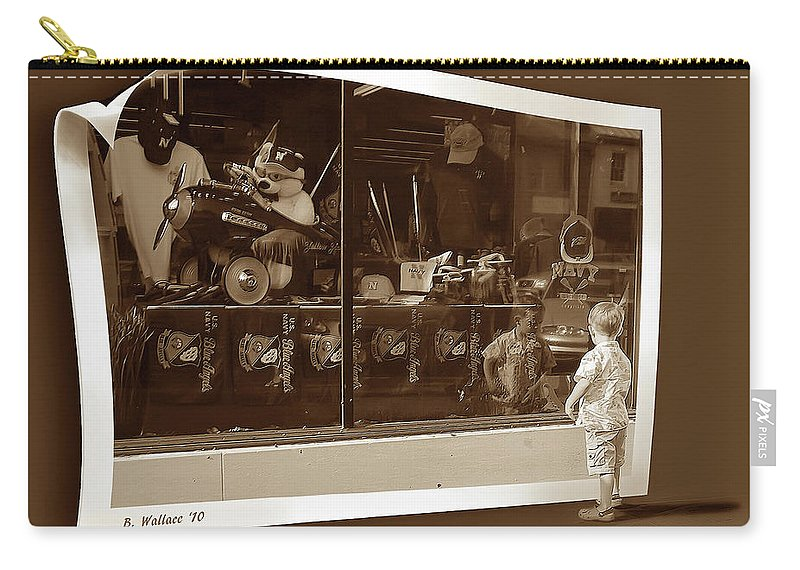 2d Carry-all Pouch featuring the photograph Window Dreaming by Brian Wallace