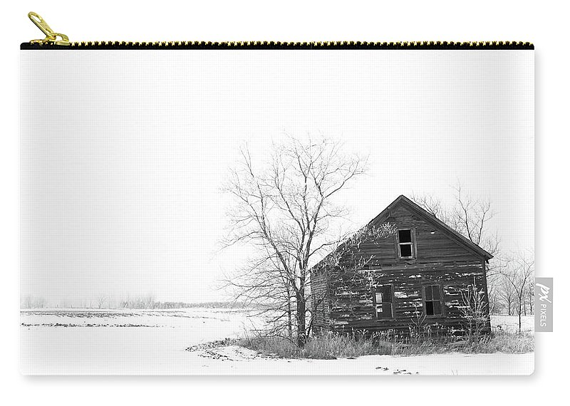 Landscape Carry-all Pouch featuring the photograph Winter In Pulaski by M Bubba Blume