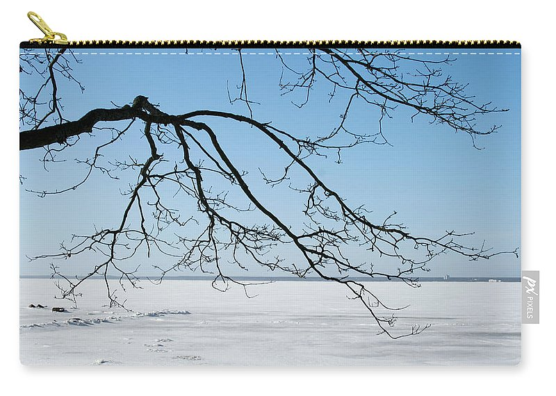 Winter Carry-all Pouch featuring the photograph Winter by Masha Batkova