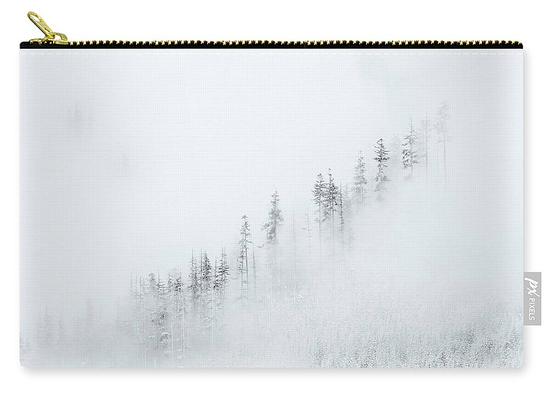 Winter Carry-all Pouch featuring the photograph Winter Veil by Mike Dawson