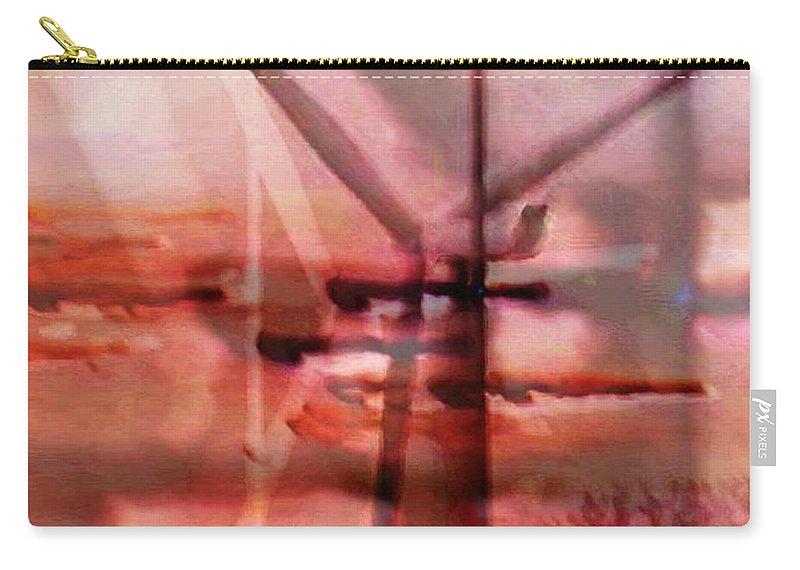Art Digital Art Carry-all Pouch featuring the digital art Wmillcb - Wind Power by Alex Porter