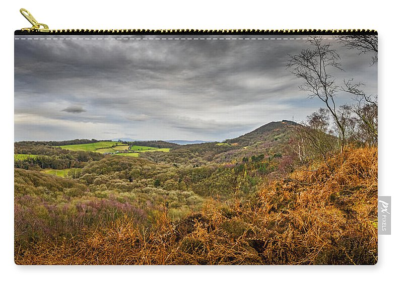 Storm Carry-all Pouch featuring the photograph Wrekin View by Mark Llewellyn