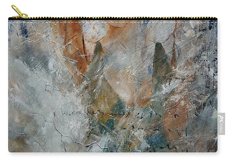 Girl Carry-all Pouch featuring the painting Young Girl 679080 by Pol Ledent