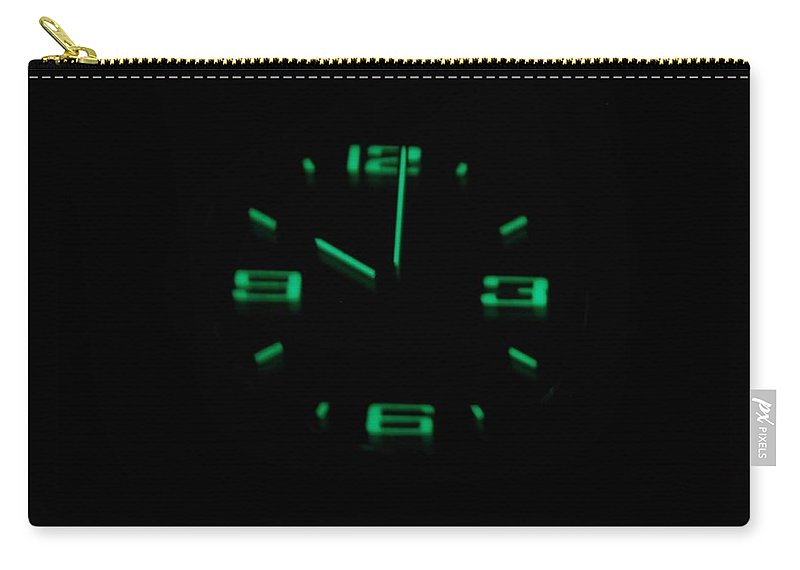 Neon Carry-all Pouch featuring the photograph 10 01 by Rob Hans