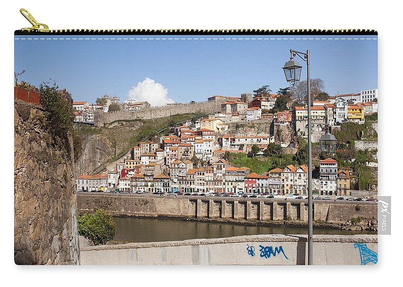 Porto Carry-all Pouch featuring the photograph City Of Porto In Portugal by Artur Bogacki
