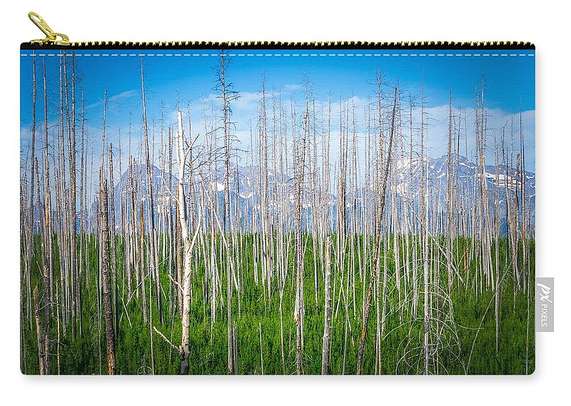 Landscape Carry-all Pouch featuring the photograph Vast Scenic Montana State Landscapes And Nature by Alex Grichenko