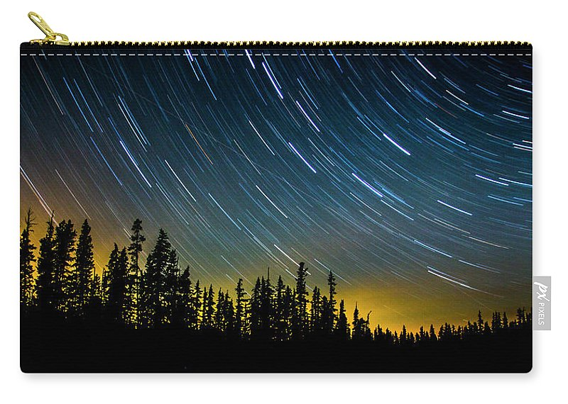 Carry-all Pouch featuring the photograph Waldo Lake by Angus Hooper Iii