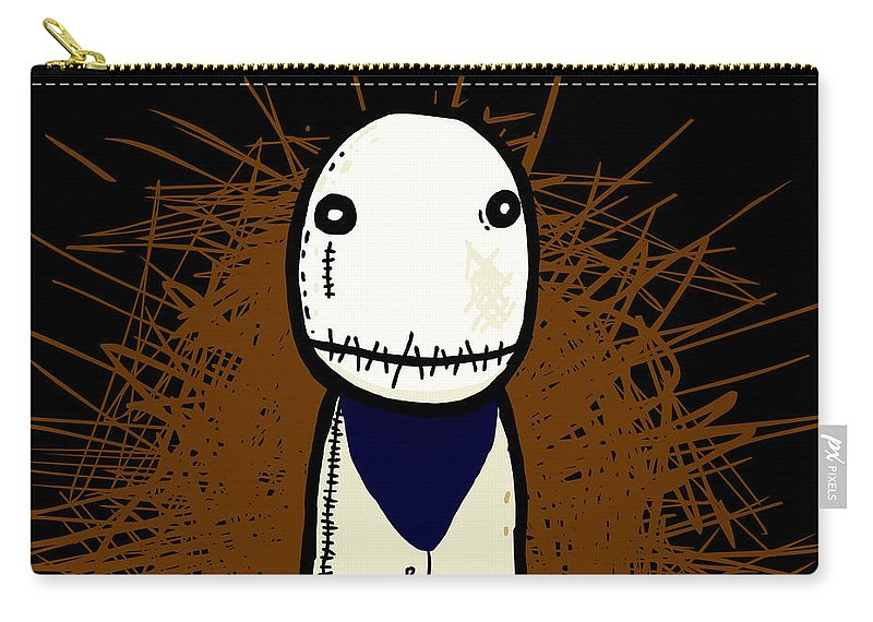 Other Carry-all Pouch featuring the digital art Other by Mery Moon