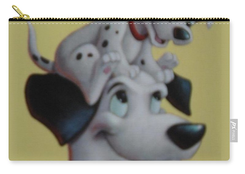 Disney Carry-all Pouch featuring the photograph 101 by Rob Hans