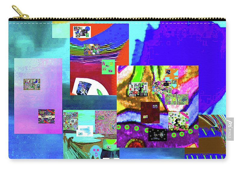 Walter Paul Bebirian Carry-all Pouch featuring the digital art 11-11-2015b by Walter Paul Bebirian