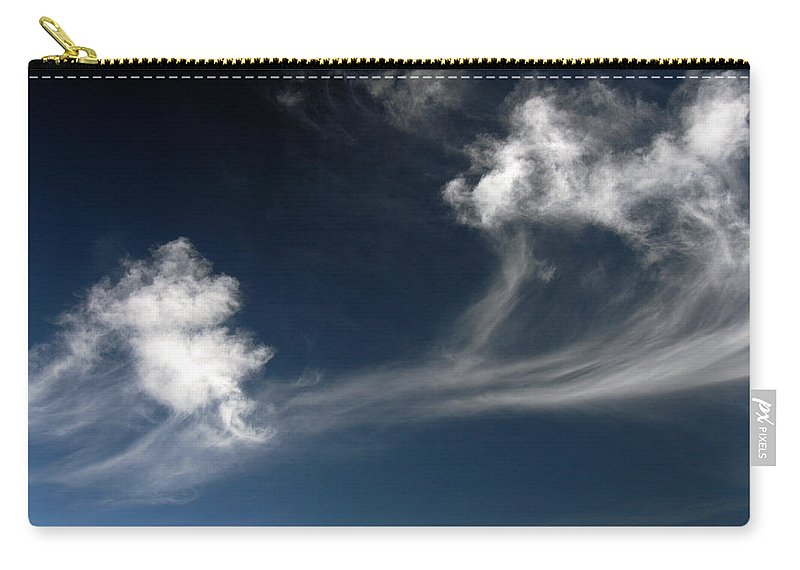 Clay Carry-all Pouch featuring the photograph Clouds by Clayton Bruster