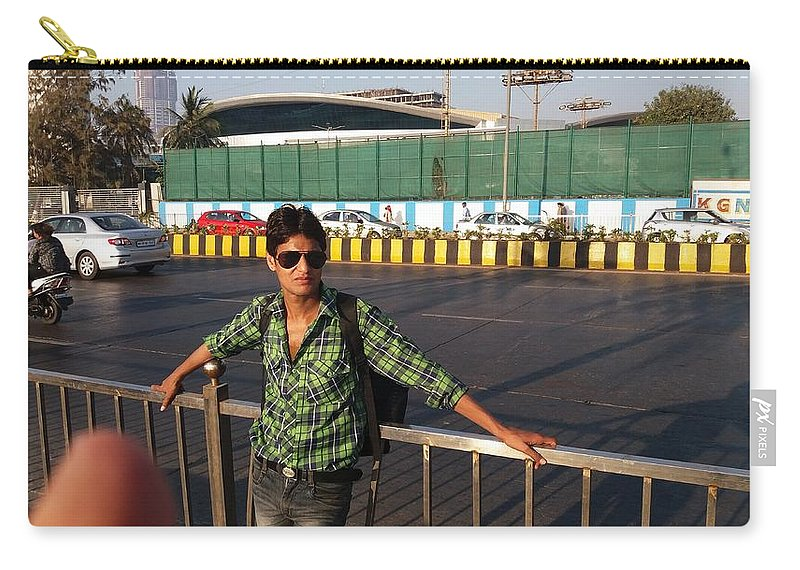 Harpal Singh Jadon Carry-all Pouch featuring the photograph Harpal Singh Jadon by Harpal Singh Jadon