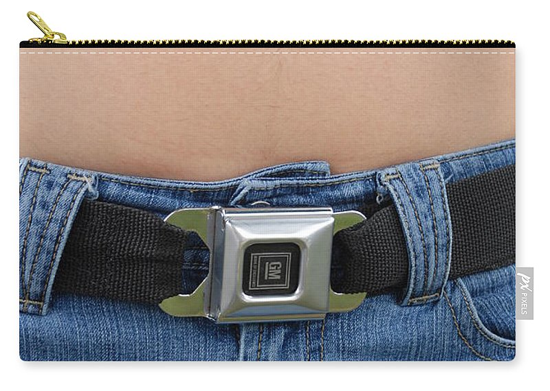 Body Carry-all Pouch featuring the photograph The G M Belt by Rob Hans