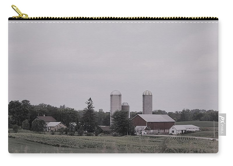 Carry-all Pouch featuring the photograph 1111 by John Bichler