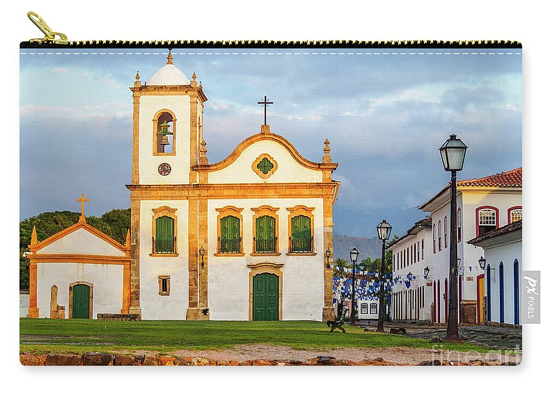 South America Carry-all Pouch featuring the photograph Paraty, Brazil by Karol Kozlowski