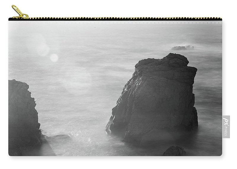 Big Sur Carry-all Pouch featuring the photograph Soberanes Point Big Sur California Sunset by Alex Grichenko