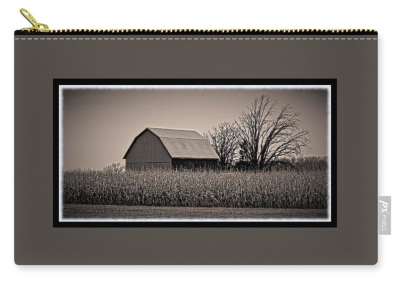 Barn Carry-all Pouch featuring the photograph 120711-41 by Mike Davis