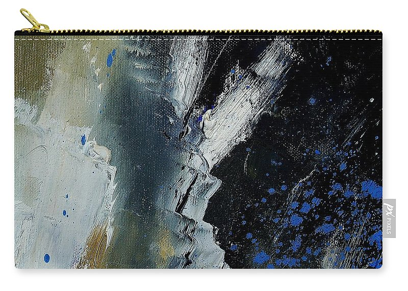 Abstract Carry-all Pouch featuring the painting 1237 by Pol Ledent