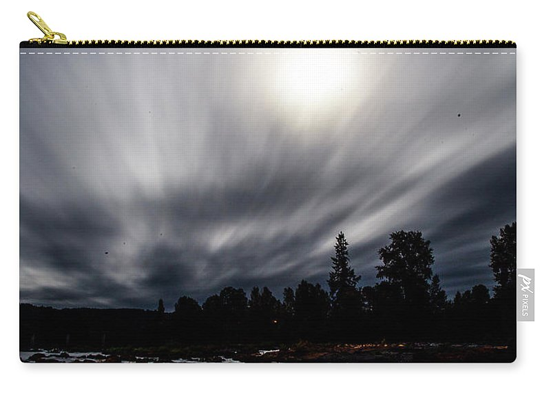 Carry-all Pouch featuring the photograph Elkton River by Angus Hooper Iii