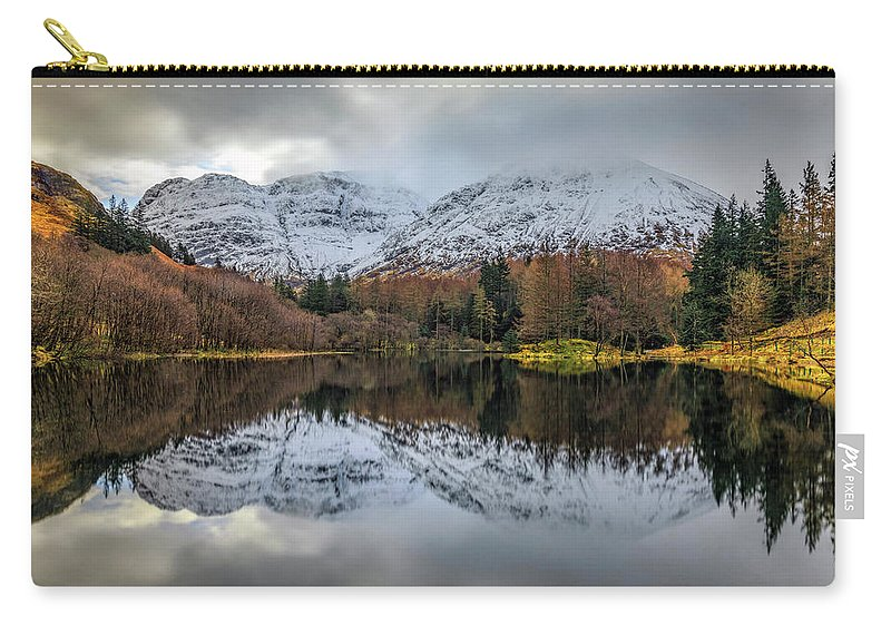 Torren Lochan Carry-all Pouch featuring the photograph Glencoe - Scotland by Joana Kruse