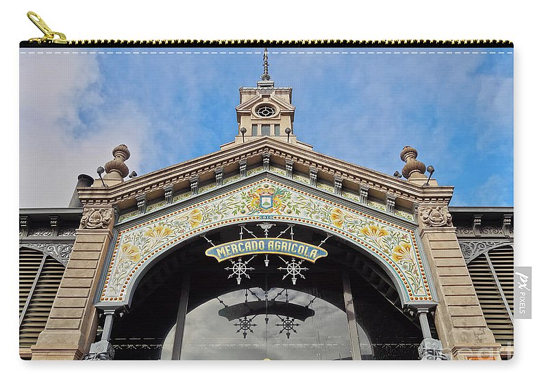 South America Carry-all Pouch featuring the photograph Montevideo, Uruguay by Karol Kozlowski