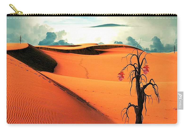 Desert Carry-all Pouch featuring the photograph Desert by FL collection
