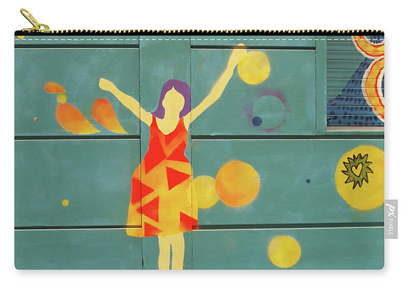 Graffiti Carry-all Pouch featuring the photograph 15 by Roger Muntes