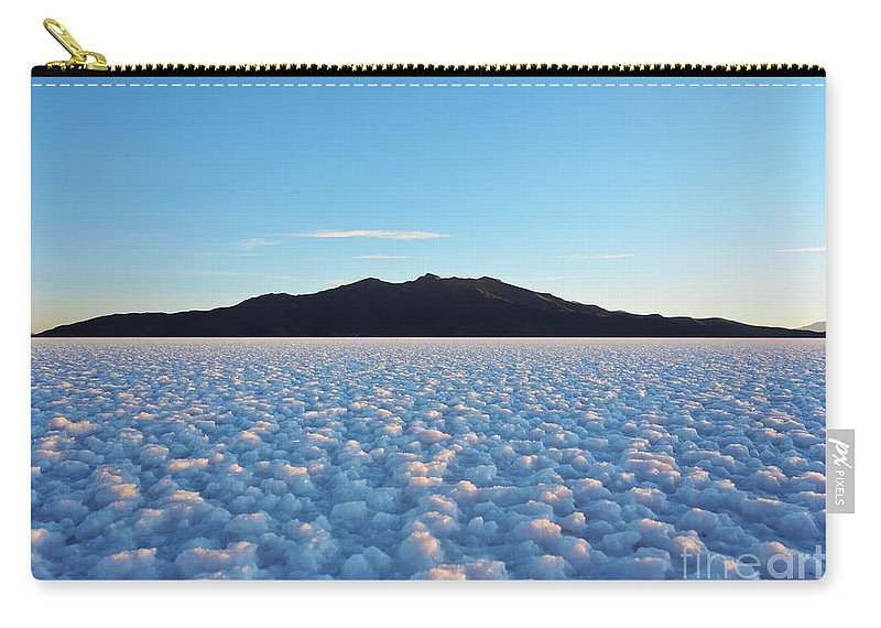 South America Carry-all Pouch featuring the photograph Salar De Uyuni, Bolivia by Karol Kozlowski