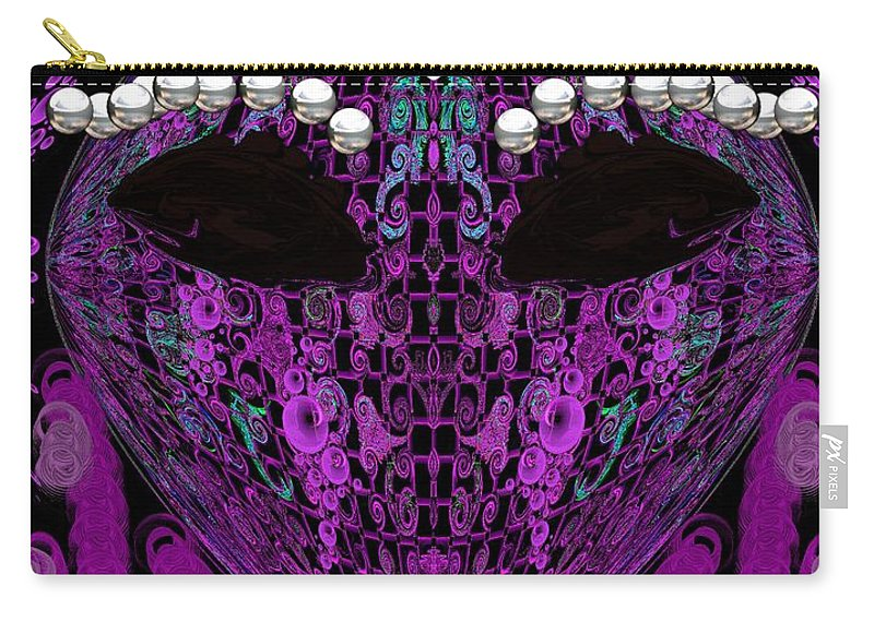 Carry-all Pouch featuring the digital art #16 by Subbora Jackson