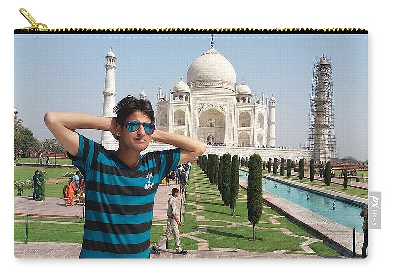 Harpal Singh Jadon Carry-all Pouch featuring the photograph Harpal Singh Jadon by Harpal Singh jadon Jadon