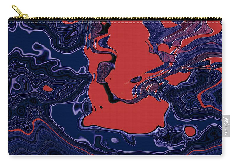 Abstract Carry-all Pouch featuring the digital art 1671 Abstract Thought by Chowdary V Arikatla