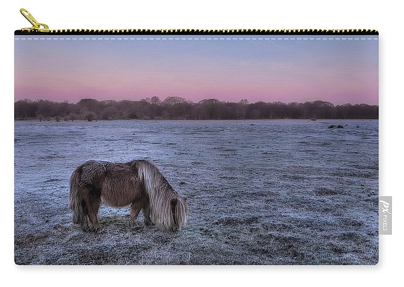 Balmer Lawn Carry-all Pouch featuring the photograph New Forest - England by Joana Kruse