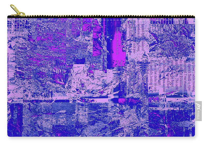 Abstract Carry-all Pouch featuring the digital art 1848 Abstract Thought by Chowdary V Arikatla