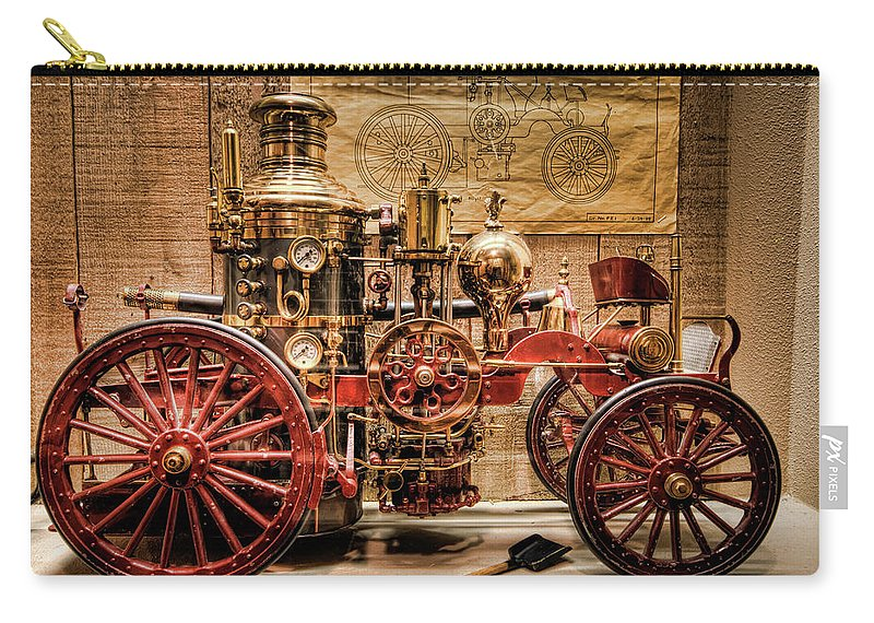 Hdr Carry-all Pouch featuring the photograph 1870 Lafrance by Brad Granger