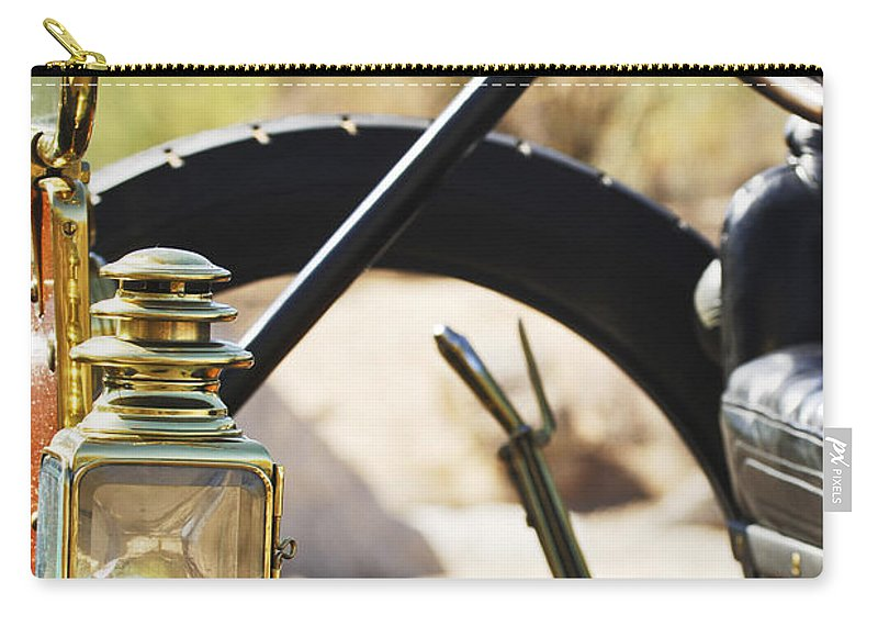 1910 Pope Hartford T Carry-all Pouch featuring the photograph 1910 Pope Hartford T 3 by Jill Reger
