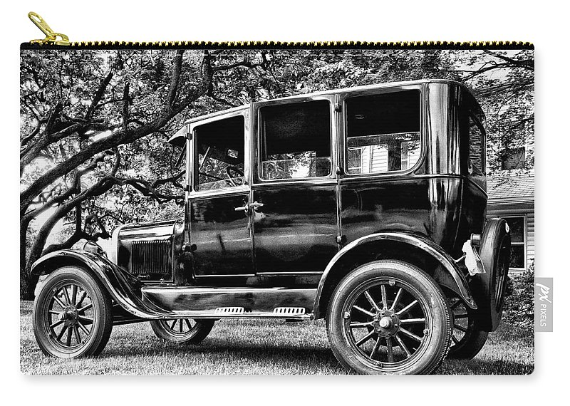 Ford Model T Carry-all Pouch featuring the photograph 1926 Ford Model T by Bill Cannon