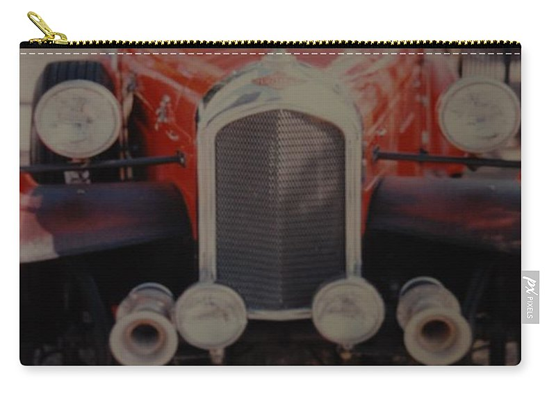 Car Carry-all Pouch featuring the photograph 1932 by Rob Hans