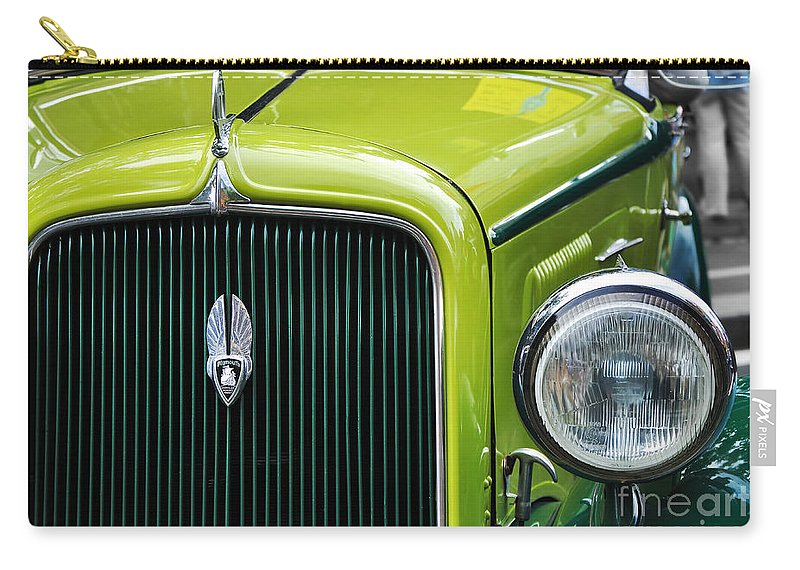1934 Plymouth - Badge Grill Hood Ornament Carry-all Pouch