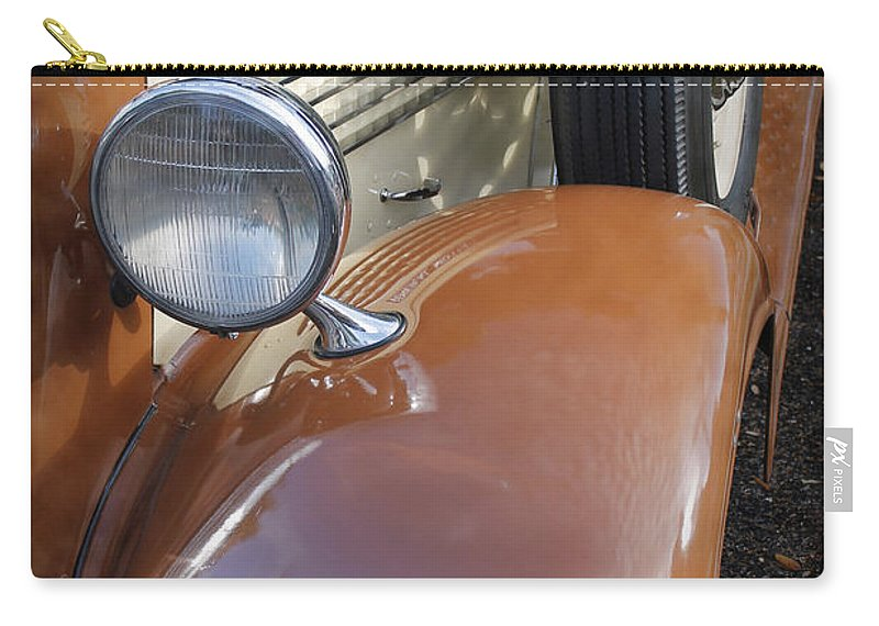 Grill Carry-all Pouch featuring the photograph 1936 Gmc Pickup Truck 2 by Robin Lewis
