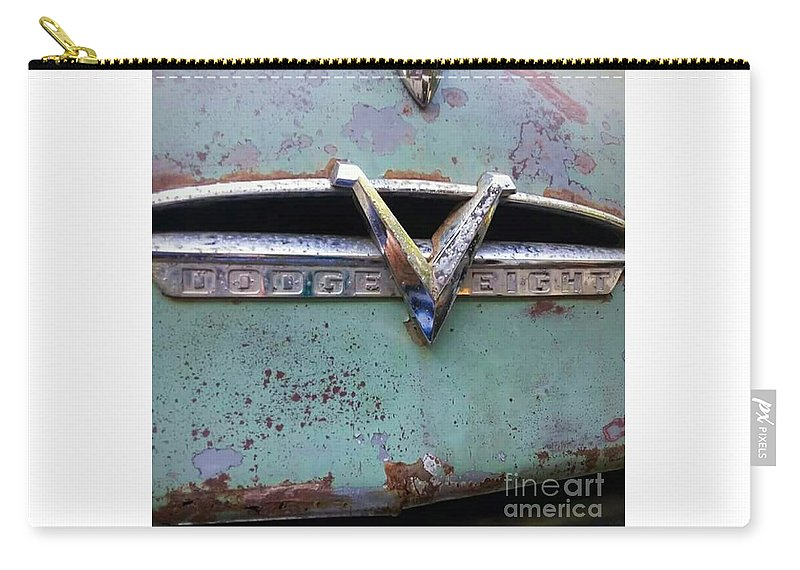 Dodge Carry-all Pouch featuring the photograph 1953 Dodge Coronet by Becca J