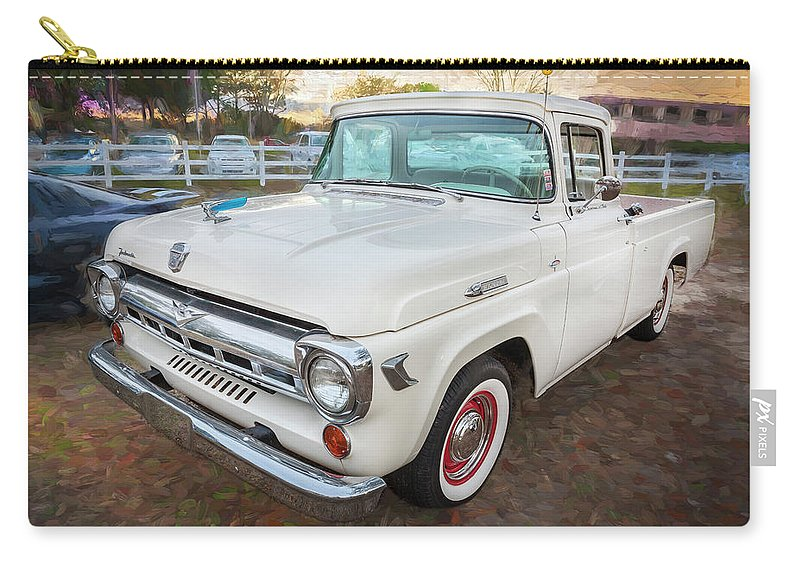 1957 Ford F100 Pickup Truck Carry All Pouch For Sale By Rich Franco