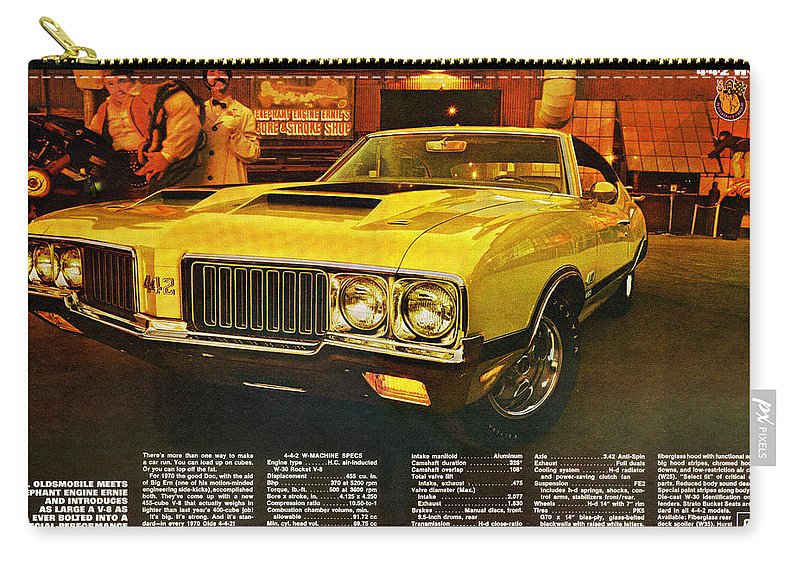 1970 Oldsmobile Cutlass 442 W-30 Carry-all Pouch