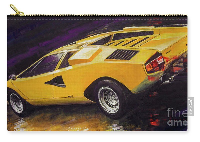 1974 Lamborghini Countach Lp400 Carry,all Pouch