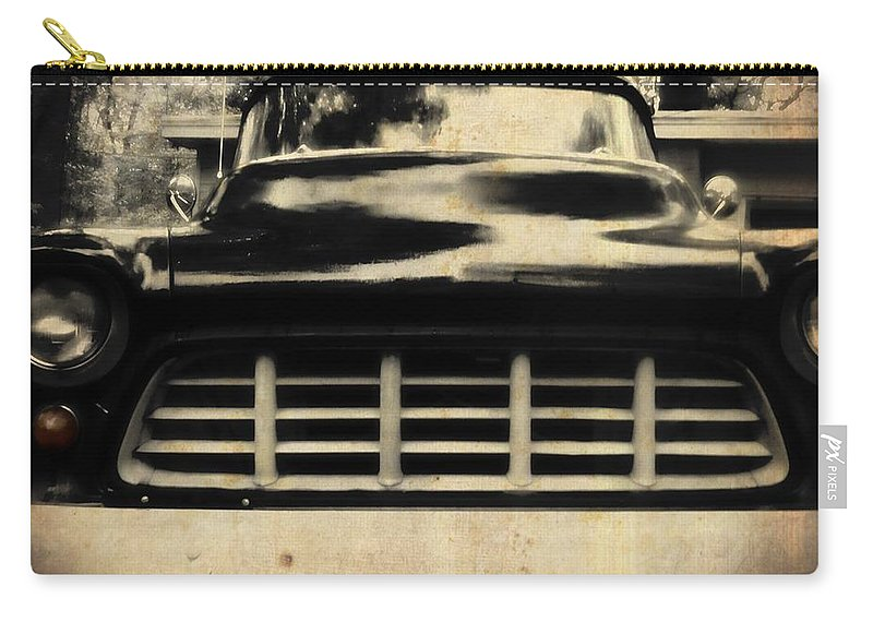 Cheyy Carry-all Pouch featuring the photograph 1957 Chevy by JAMART Photography