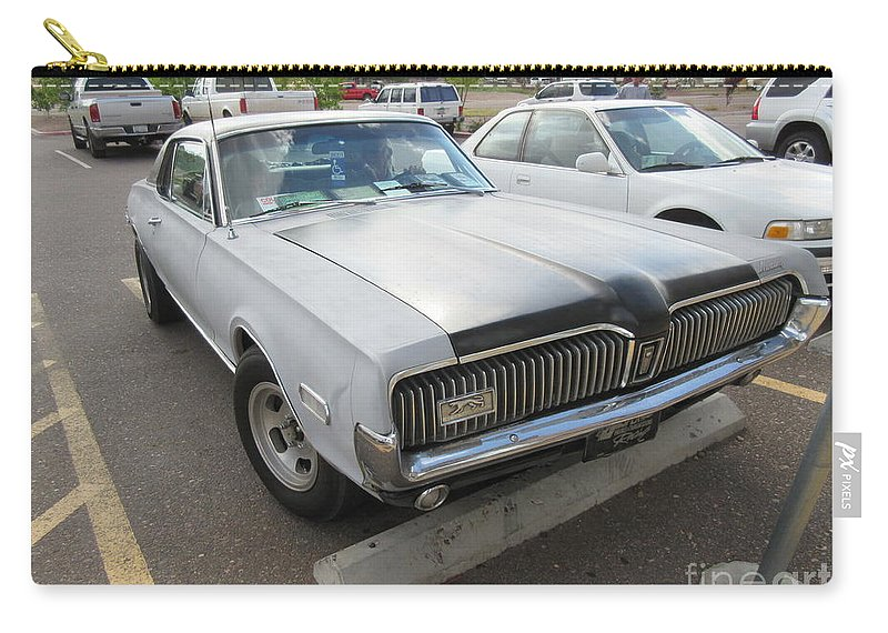 Mercury Carry-all Pouch featuring the photograph 1968 Mercury Cougar Xr7 by Frederick Holiday