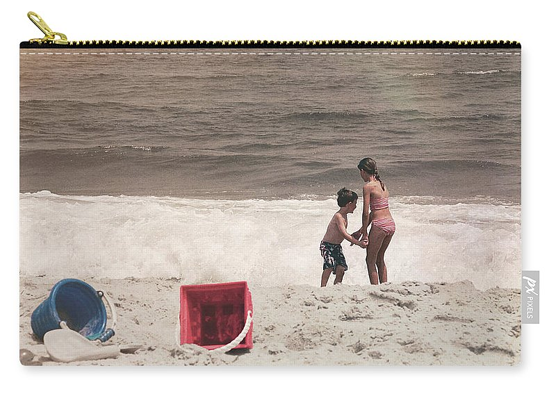 Beach Carry-all Pouch featuring the photograph Anticipation by JAMART Photography