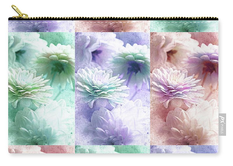 Asters Carry-all Pouch featuring the photograph Asters by Lali Kacharava