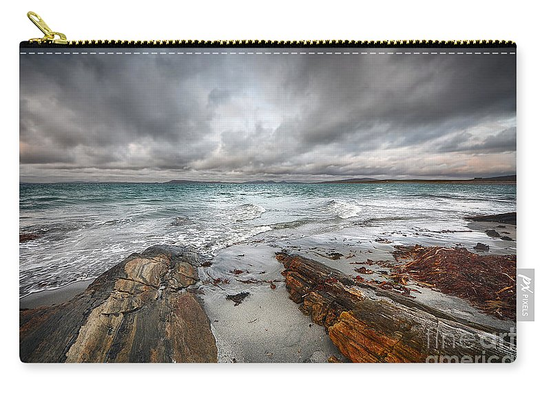Berneray Carry-all Pouch featuring the photograph Berneray Views by Smart Aviation
