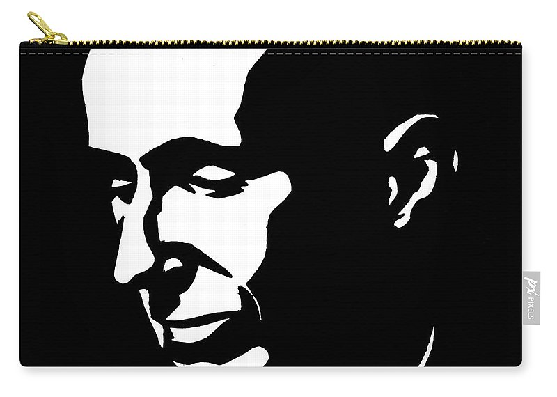 20th Century Carry-all Pouch featuring the photograph Bertolt Brecht (1898-1956) by Granger